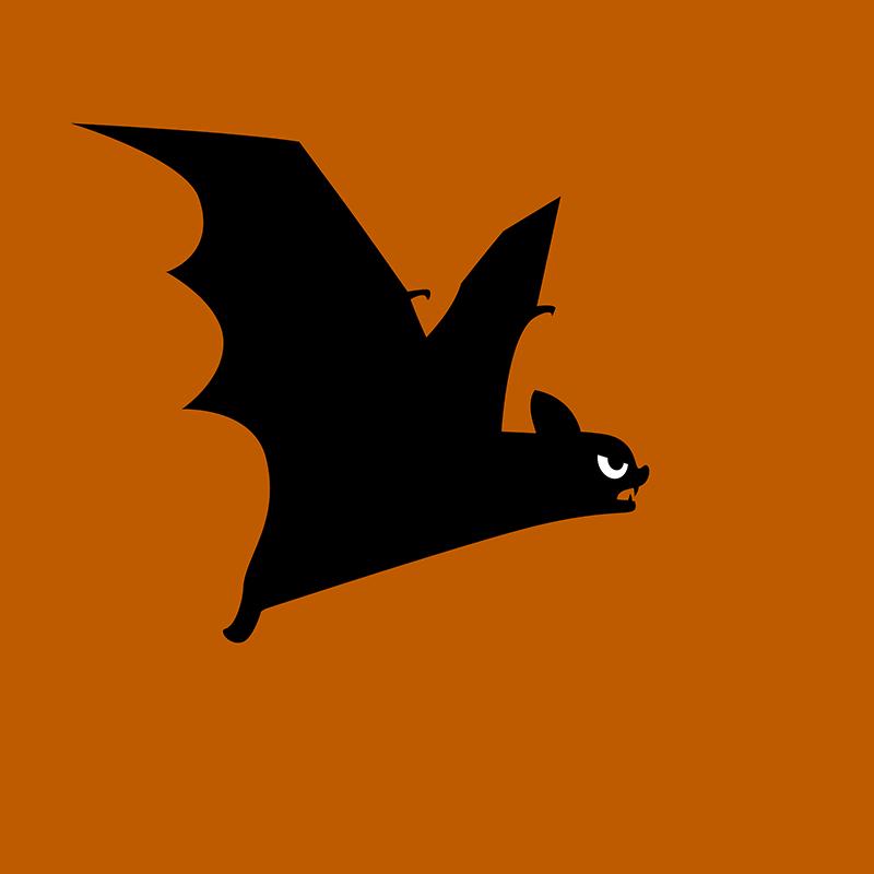 Angry Animals - Bat by VrijFormaat