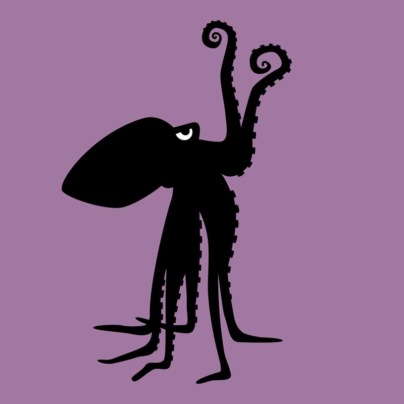 Angry Animals octopus ©VrijFormaat