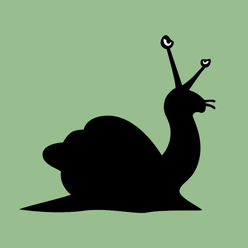 Angry Animals - Snail by VrijFormaat