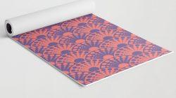 New at Society6: Yoga mats