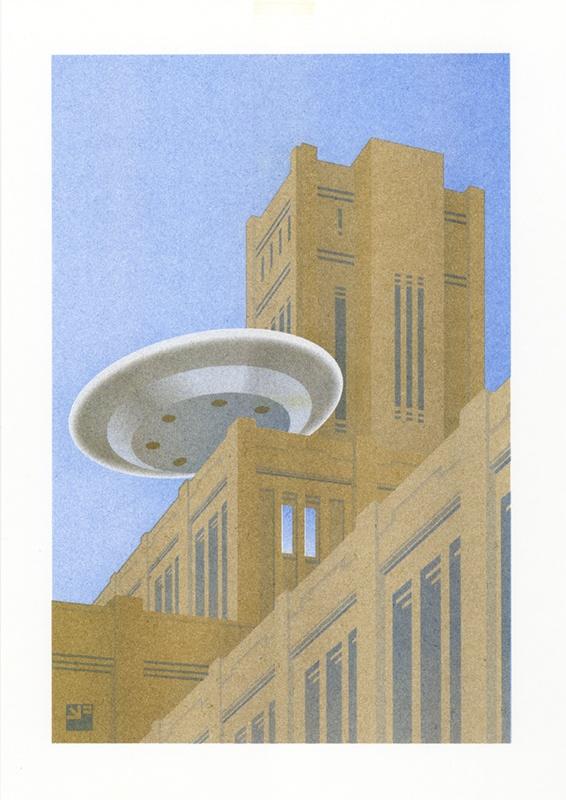 risoprint Utrecht Inktpot & UFO door VrijFormaat