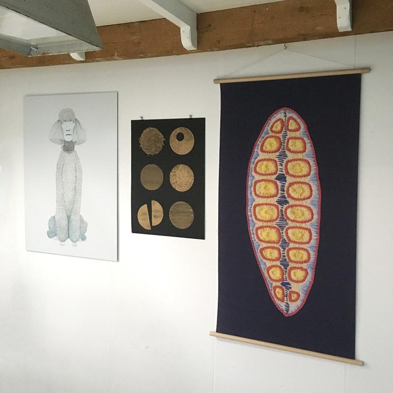 dibond prin, riso print & canvas poster ©VrijFormaat