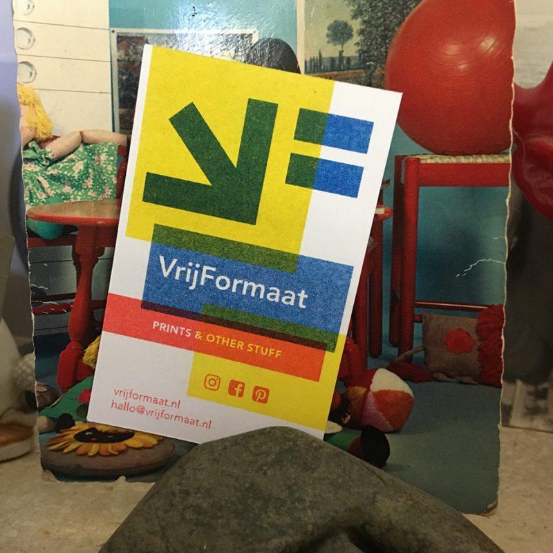 VrijFormaat visitekaartje