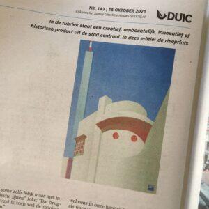 Read more about the article VrijFormaat in Utrecht newspaper